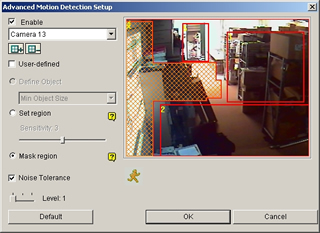 Advanced Motion Detection